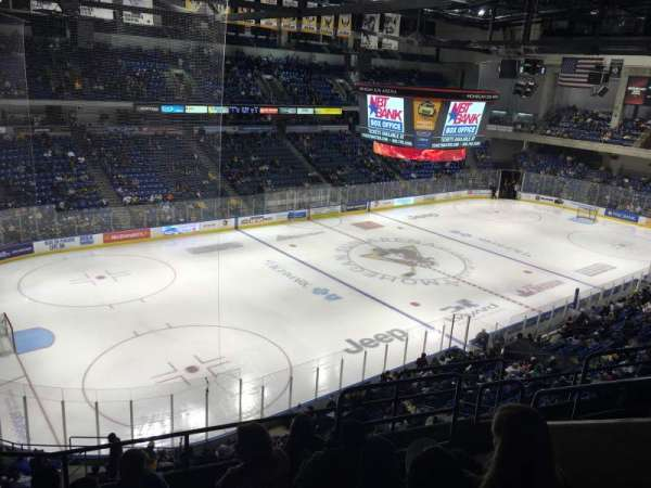 Mohegan Sun Arena at Casey Plaza, section: 207, row: F, seat: 6