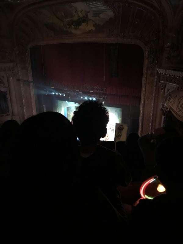 Chicago Theatre, section: Balc, row: Q, seat: 110