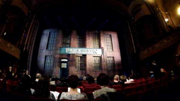 Al Hirschfeld Theatre, section: Orchestra C, row: J, seat: 109