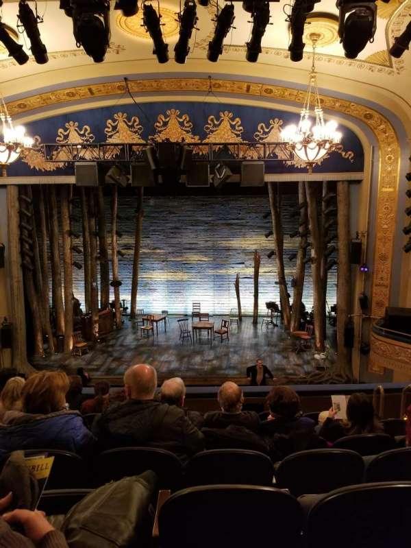 Gerald Schoenfeld Theatre, section: Mezzanine C, row: G, seat: 110