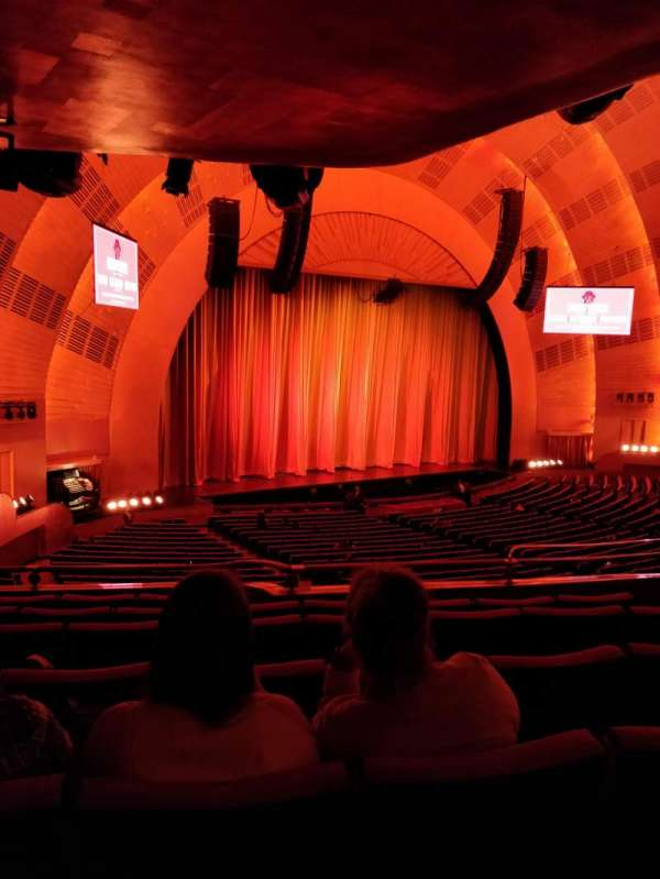 Radio City Music Hall, section: 1st Mezzanine 7, row: E, seat: 709