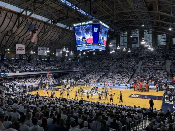 Hinkle Fieldhouse, section: 216, row: 2, seat: 11
