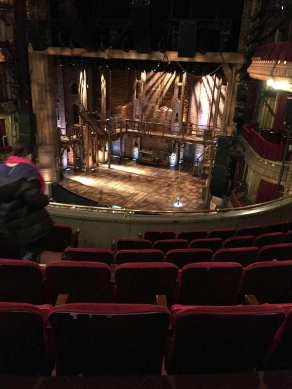 CIBC Theatre, section: Mezzanine R, row: G, seat: 10