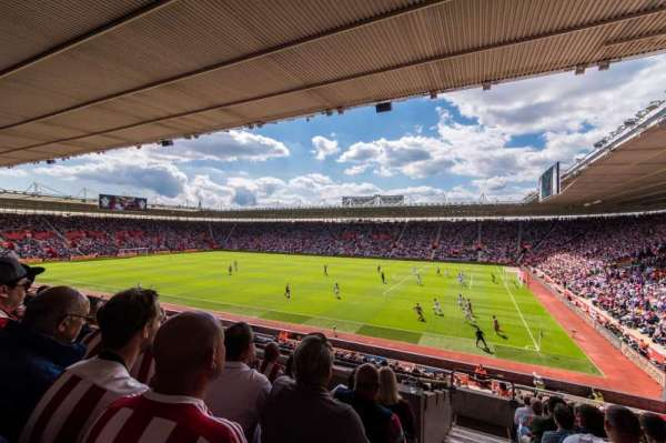 St Mary's Stadium, section: 3, row: 25