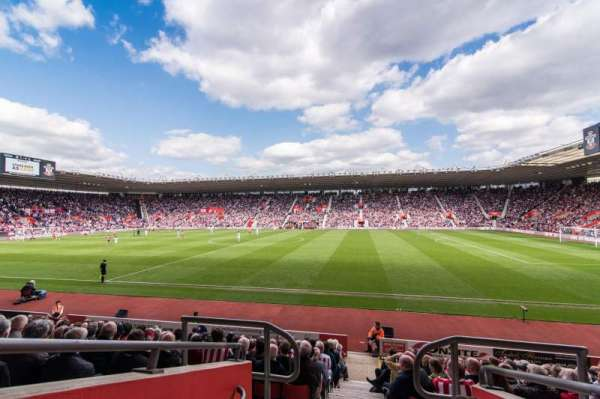 St Mary's Stadium, section: 30