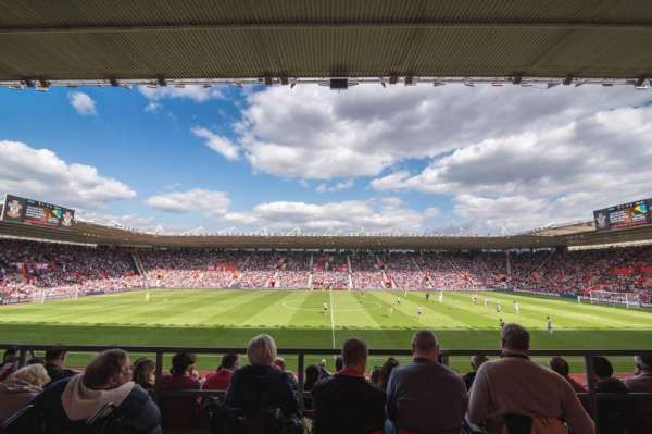 St Mary's Stadium, section: 31