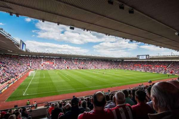 St Mary's Stadium, section: 35