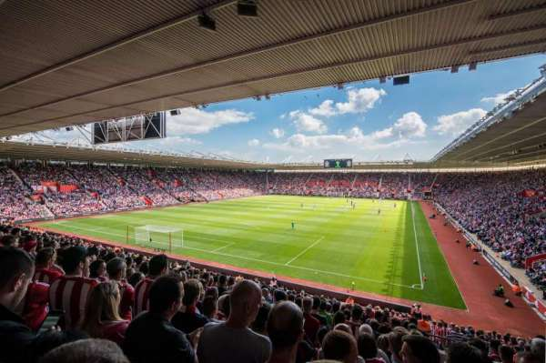 St Mary's Stadium, section: 40