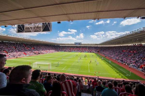 St Mary's Stadium, section: 42
