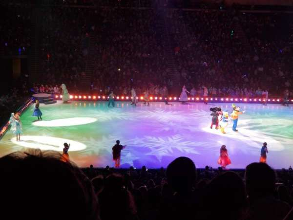 Infinite Energy Arena, section: 104, row: Y, seat: 13