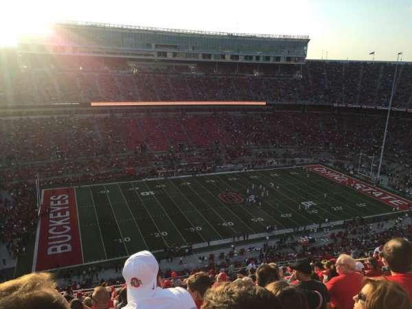 Ohio Stadium, section: 26C, row: 34, seat: 29