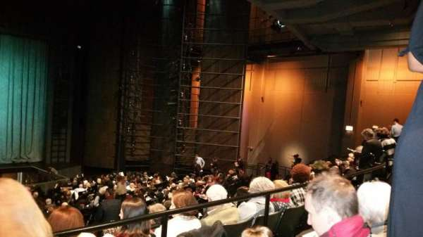 Harris Theater, section: Orchestra Center, row: Z, seat: 103