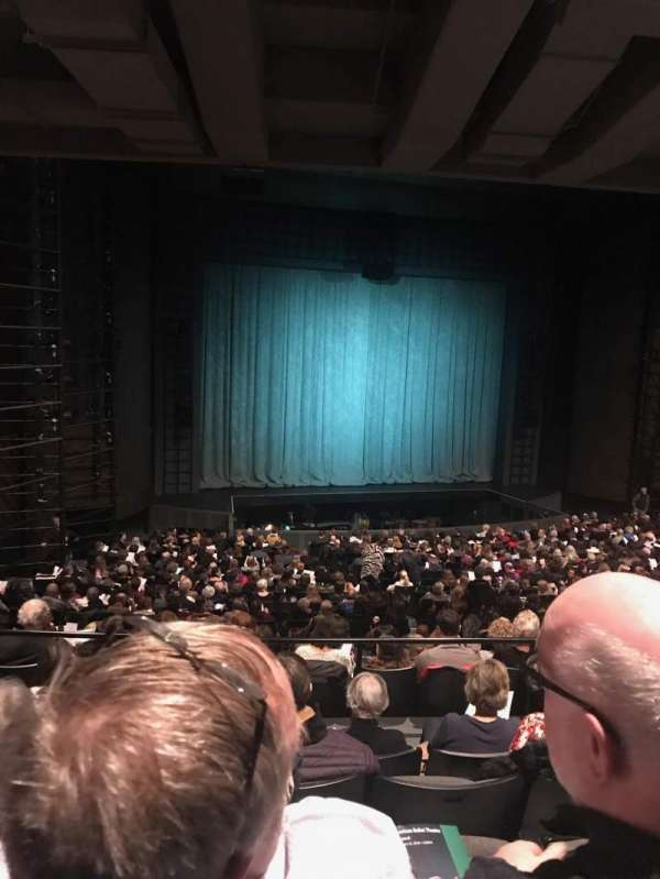 Harris Theater, section: Orchestra Left, row: CC, seat: 15