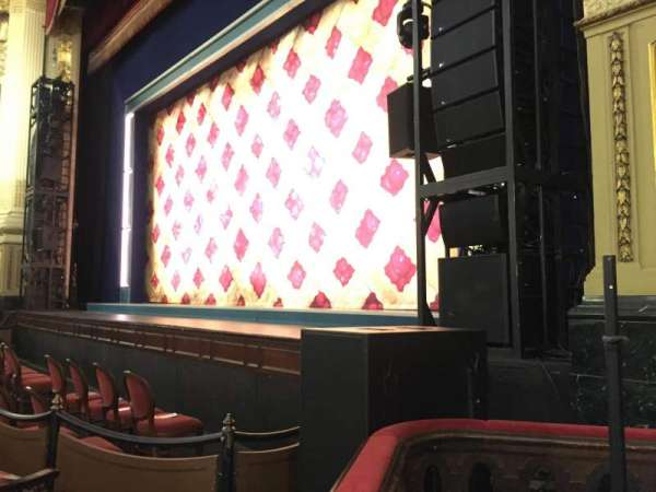 Citizens Bank Opera House, section: Right Orchestra Limited View, row: A, seat: 50 and 52
