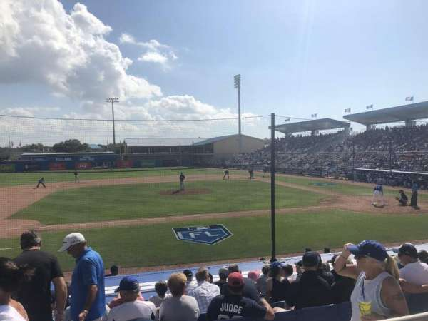 Florida Auto Exchange Stadium, section: 209, row: 2, seat: 12