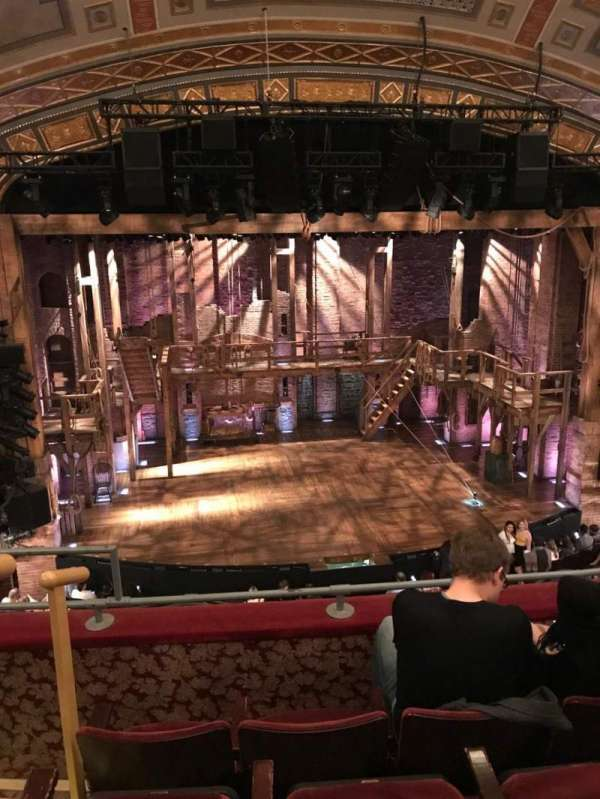 Richard Rodgers Theatre, section: Front Mezzanine C, row: D, seat: 113
