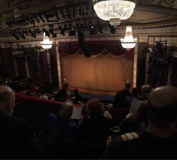 Imperial Theatre, section: Rear Mezzanine 2, row: D, seat: 8