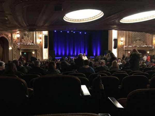 Paramount Theatre (Seattle), section: Main Floor, row: 4E, seat: GG