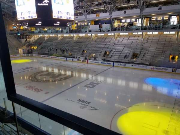 Yost Ice Arena, section: 212, row: A, seat: 10