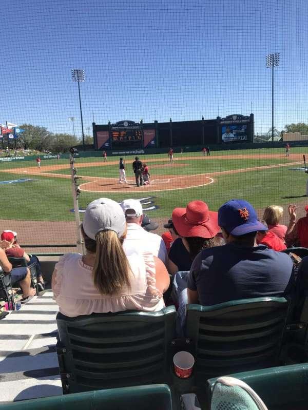 Champion Stadium, section: 112, row: G, seat: 16