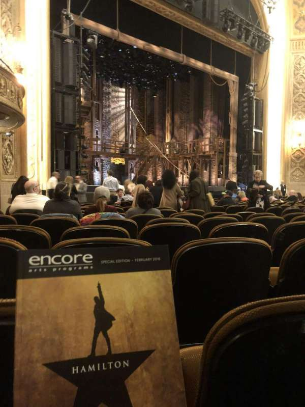 Paramount Theatre (Seattle), section: Main Floor 4, row: R, seat: 11