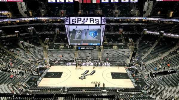 AT&T Center, section: 224, row: 11, seat: 6