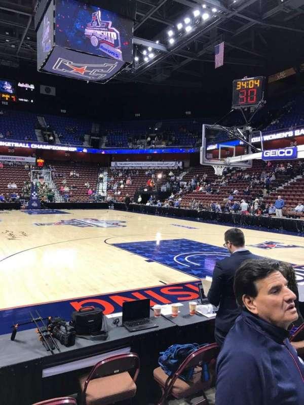 Mohegan Sun Arena, section: 12, row: B, seat: 4