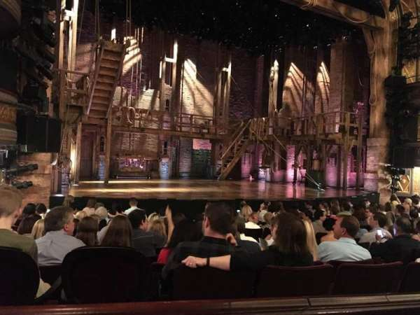 Richard Rodgers Theatre, section: Orchestra L, row: L, seat: 13