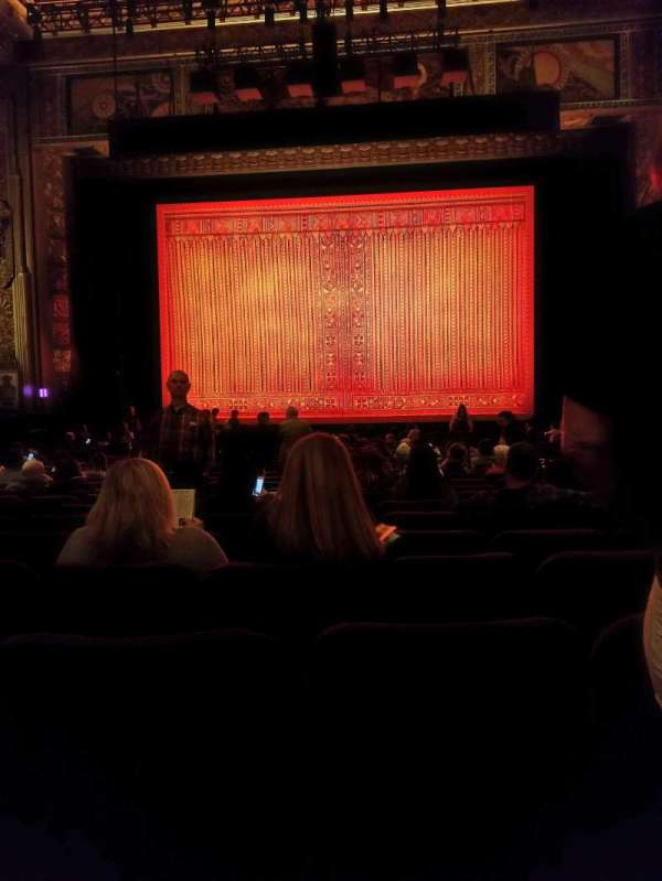 Hollywood Pantages Theatre, section: Orchestra C, row: X, seat: 103