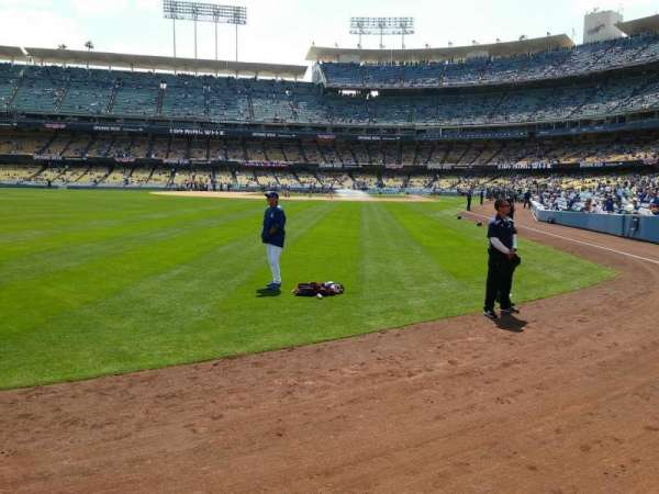 Dodger Stadium, section: 303PL, row: A
