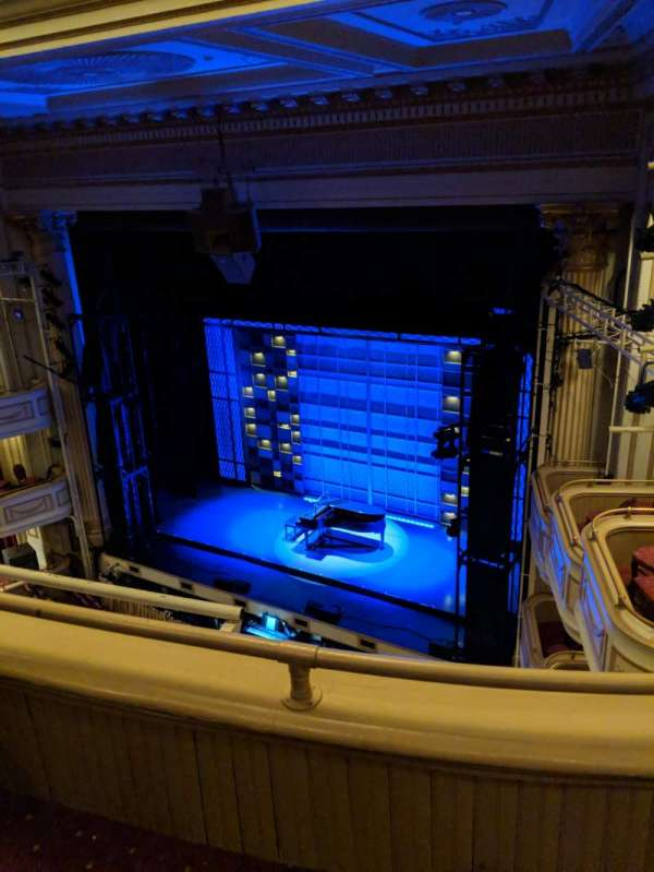 Shubert Performing Arts Center, section: Balcony, row: B, seat: 16