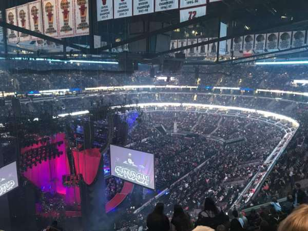 United Center, section: 322, row: 12, seat: 19-20