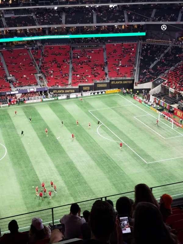 Mercedes-Benz Stadium, section: 311, row: 9, seat: 23