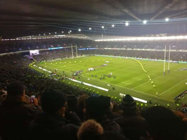 Murrayfield Stadium, section: W8, row: RR, seat: 8