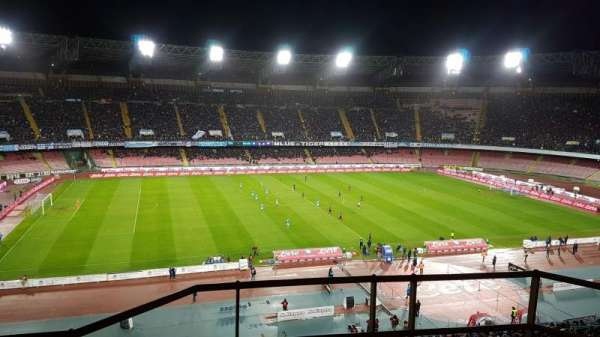 Stadio San Paolo, section: O17, row: 29, seat: 1