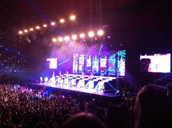 The O2 Arena, section: 112, row: N, seat: 343