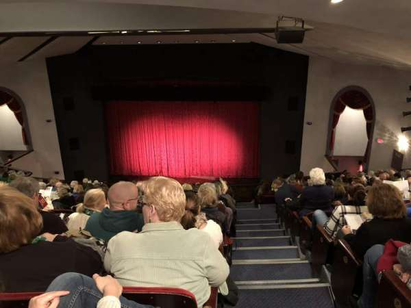 Walnut Street Theatre, section: Mezz Right, row: R, seat: 303