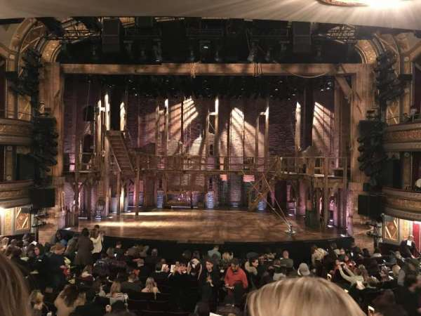 Richard Rodgers Theatre, section: Orchestra C, row: Q, seat: 105