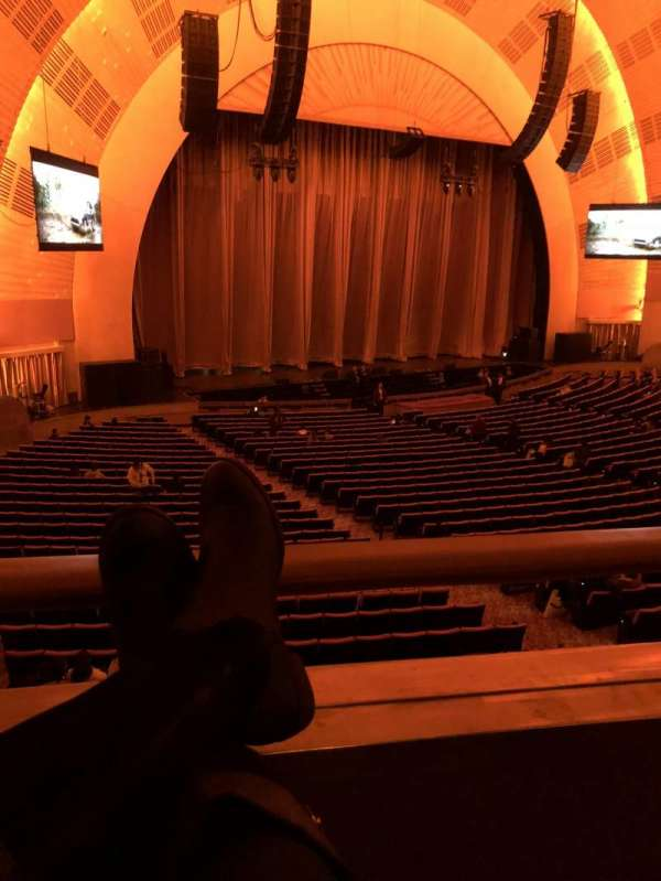 Radio City Music Hall, section: 1st mezzanine 7, row: BB, seat: 703