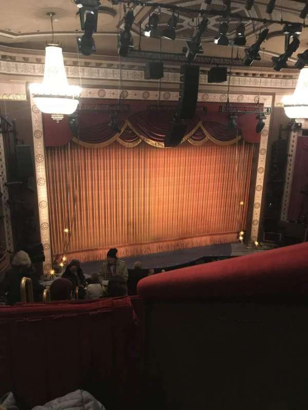 Imperial Theatre, section: Rear Mezzanine 5, row: B, seat: 1
