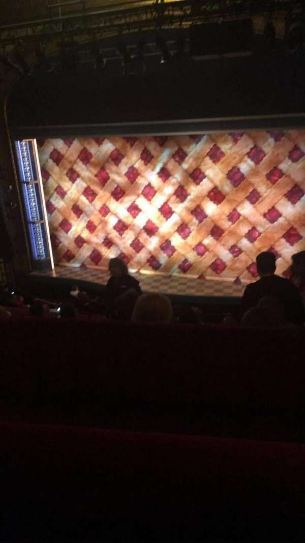 Brooks Atkinson Theatre, section: Rear Mezzanine RC, row: E, seat: 103
