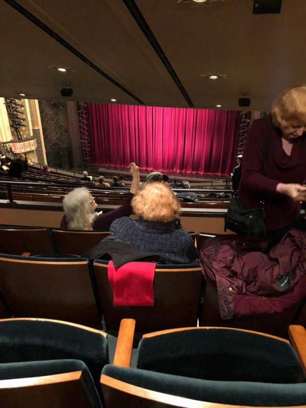 New York City Center, section: Mezz, row: L, seat: 126