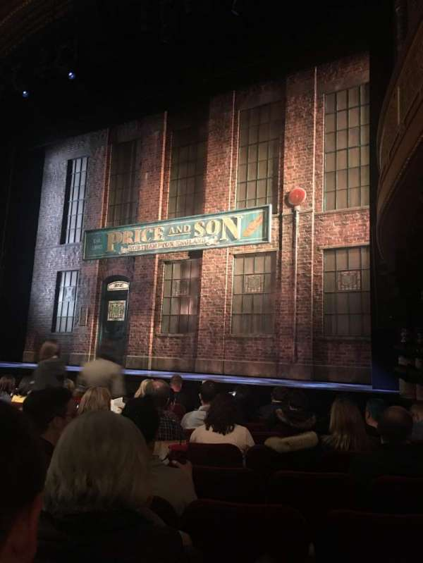 Al Hirschfeld Theatre, section: Orchestra R, row: K, seat: 16