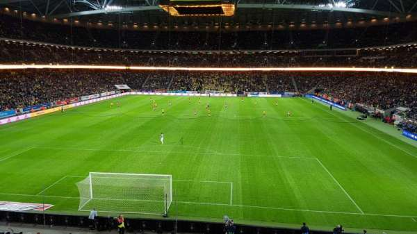 Friends Arena, section: 221, row: 1, seat: 173