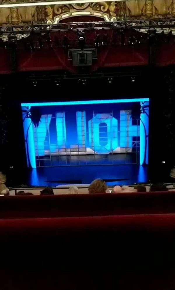 Nederlander Theatre (Chicago), section: Balcony C, row: E, seat: 305
