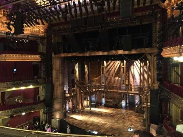 CIBC Theatre, section: Mezzanine R, row: E, seat: 6