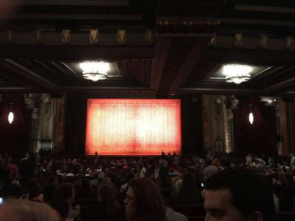 Hollywood Pantages Theatre, section: Orchestra center, row: VV, seat: 103