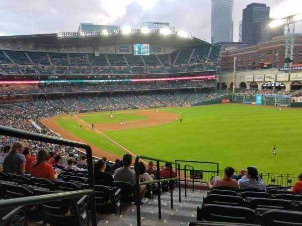 Minute Maid Park, section: 235, row: 10, seat: 1