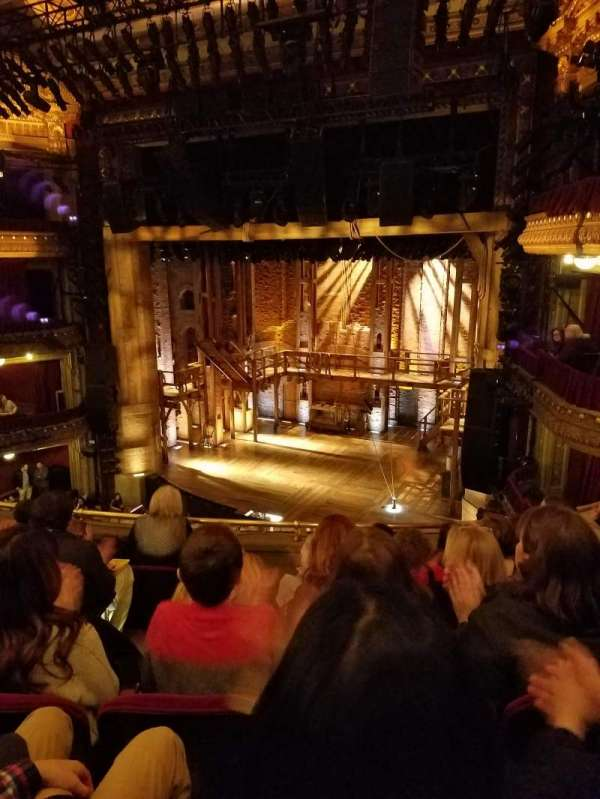 CIBC Theatre, section: Mezzanine R, row: J, seat: 8