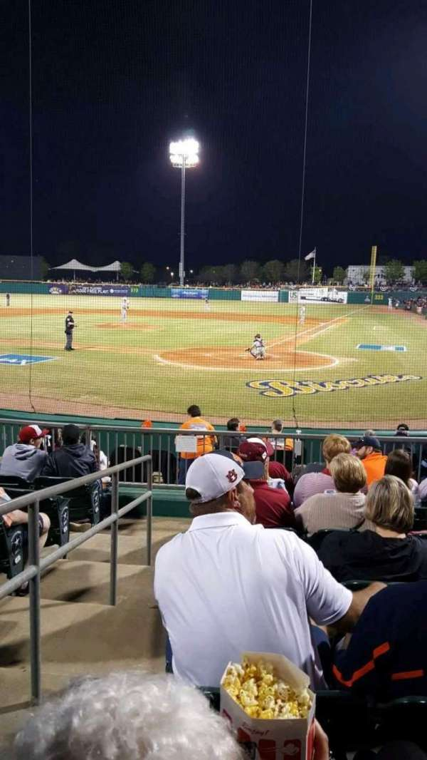 Montgomery Riverwalk Stadium, section: 110, row: 11, seat: 16